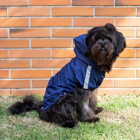 Capa de Chuva para Cachorros | Azul