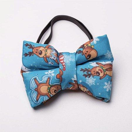 Gravata de Natal para Cachorros e Gatos Reindeer