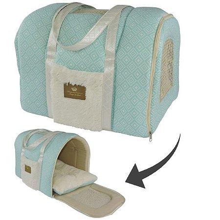 Bolsa de Transporte para Cachorros e Gatos | Cute Baby Verde