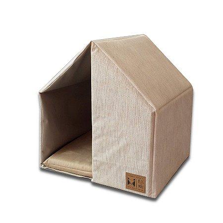 Casinha para Cachorros e Gatos | Pet The House Cor Palha
