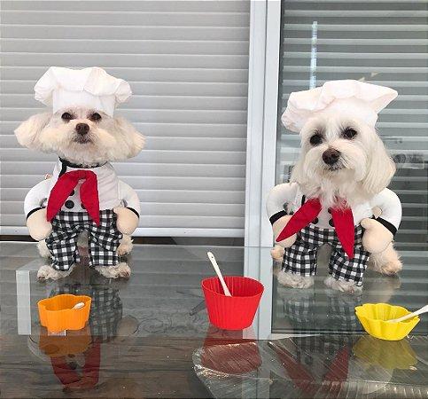 Fantasia para Cachorros | Chefe de Cozinha