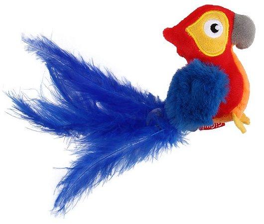 Brinquedo para Gatos Melody Chaser Papagaio com Som