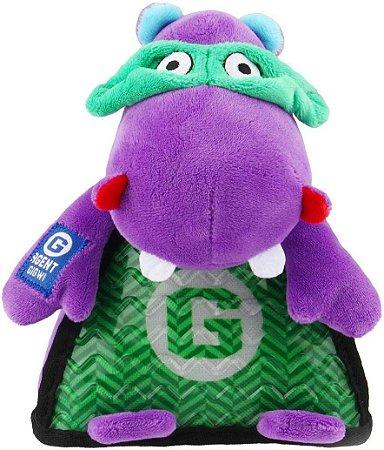 Brinquedo para Cachorros Agent Gigwi Pelúcia Hipopótamo