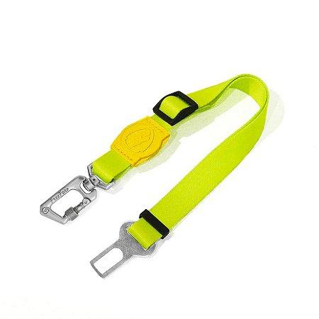 Cinto de Segurança para Cachorros Neon Lemon