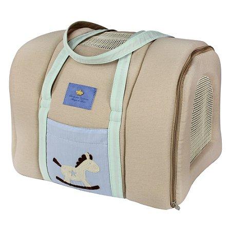 Bolsa de Transporte Aéreo para Cachorros e Gatos | Companhia GOL | Carrossel Azul