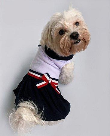 Vestido para Cachorros | Fita Marinheiro