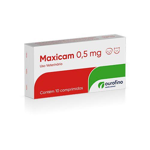 Anti-inflamatório Maxicam 0,5mg