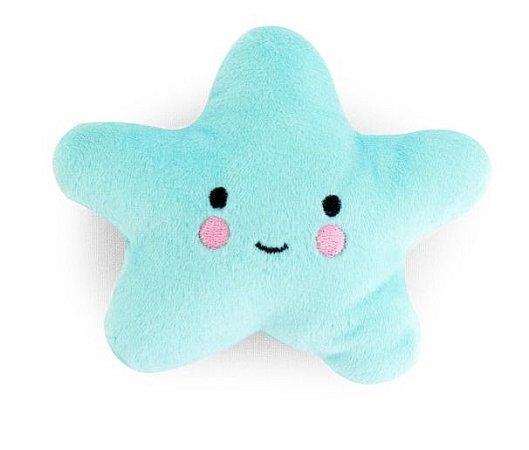 Brinquedo para Cachorros   Pelúcia Estrela Azul