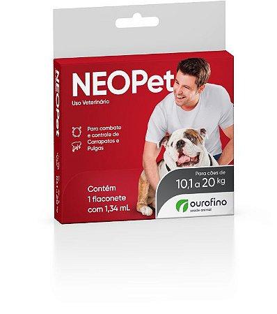 Antipulgas e Carrapatos Neopet Cães 10,1 a 20kg