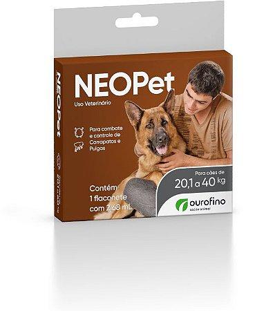 Antipulgas e Carrapatos Neopet | Cães 20,1 a 40kg