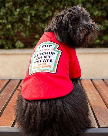 Camiseta para Cachorros e Gatos | Ketchup