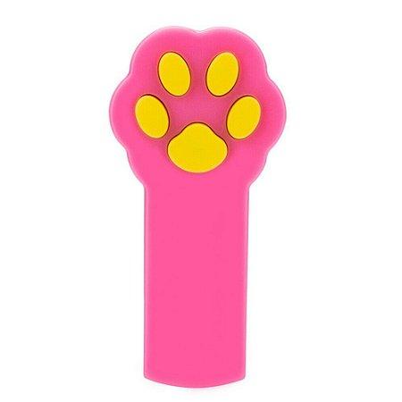 Laser para Gatos Patinha Rosa
