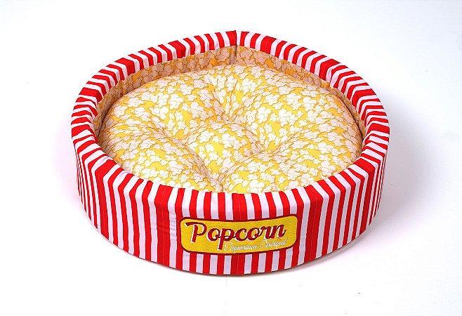 Cama Redonda para Cachorros e Gatos Popcorn