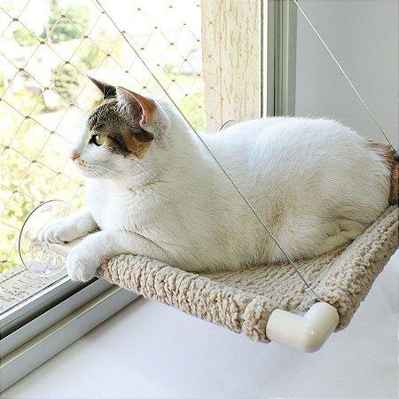 Cama de Janela para Gatos Catbed Carneirinho