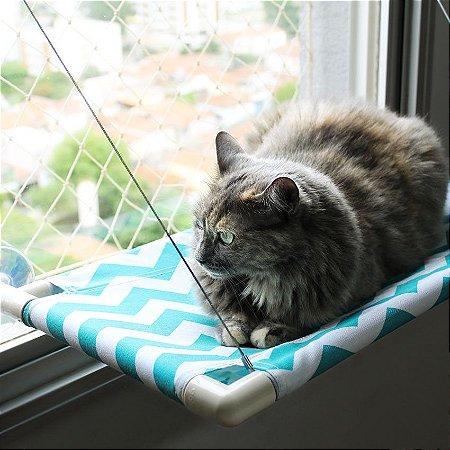 Cama de Janela para Gatos | Catbed Fish