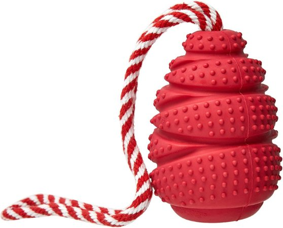 Brinquedo para Cachorros | Rubber Cone com Corda