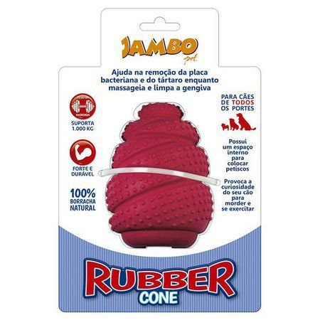 Brinquedo para Cachorros Rubber Cone