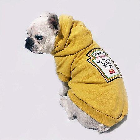 Moletom para Cachorros Mustard