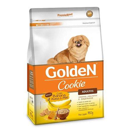Biscoito Cookie para Cachorros Golden Banana Aveia e Mel