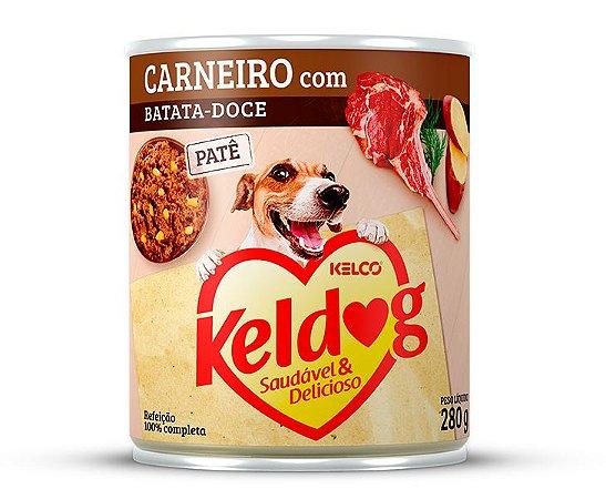 Alimento Úmido para Cachorros Keldog Carneiro com Batata-Doce