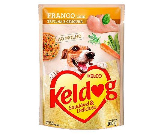 Sachê Úmido para Cachorros | Keldog Frango com Ervilha e Cenoura