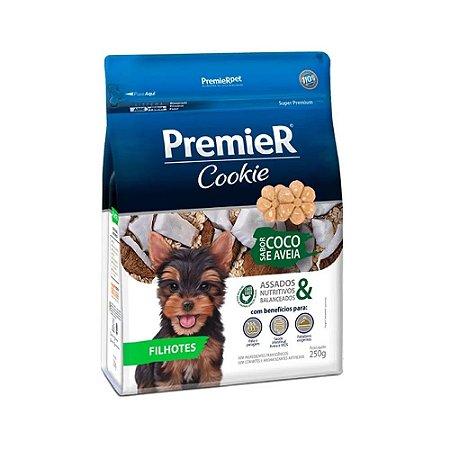 Biscoito Cookie para Cachorros | Premier Filhotes Coco e Aveia