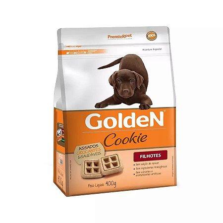 Biscoito Cookie para Cachorros Golden Filhotes