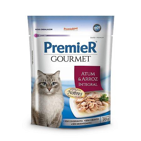 Sachê Úmido para Gatos Premier Gourmet Atum