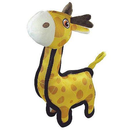 Brinquedo para Cachorros Pelúcia Tuff Girafa