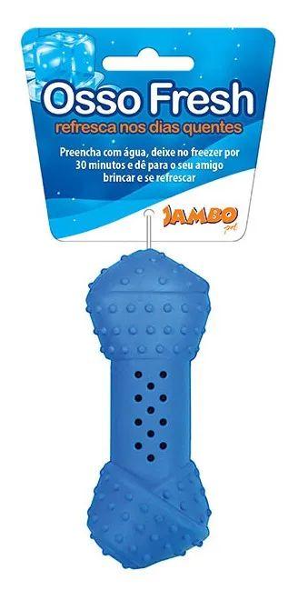 Brinquedo para Cachorros | Osso Congelável Fresh Azul