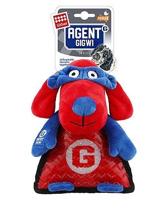 Brinquedo para Cachorros Agent Gigwi Pelúcia Cachorro