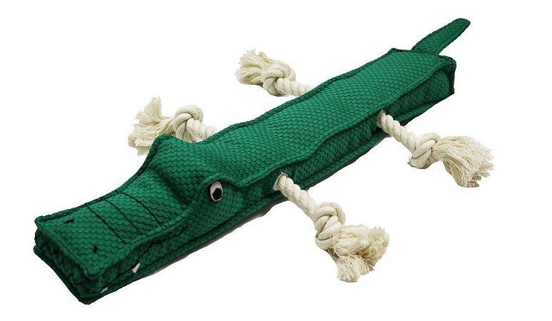 Brinquedo para Cachorros Pelúcia Alligator Stick