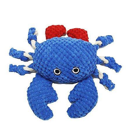 Brinquedo para Cachorros Pelúcia Crab