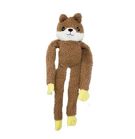 Brinquedo para Cachorros Pelúcia Esquilo