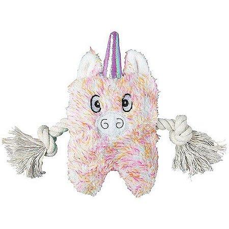 Brinquedo para Cachorros Pelúcia Unicorn Greybar