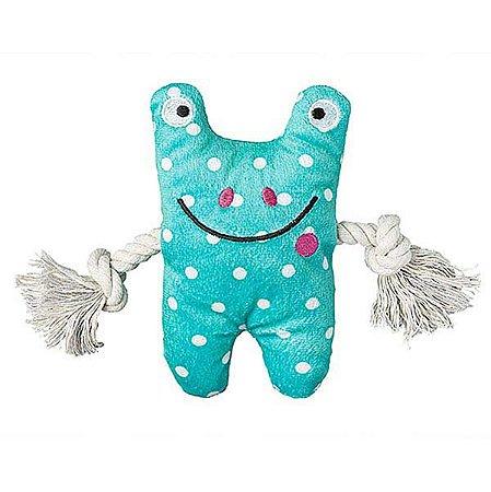 Brinquedo para Cachorros Pelúcia Frog Greybar