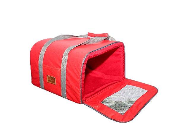 Bolsa de Transporte Aéreo para Cachorros e Gatos | Companhia LATAM | Vermelho