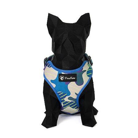 Peitoral Air para Cachorros Zinco Camuflado