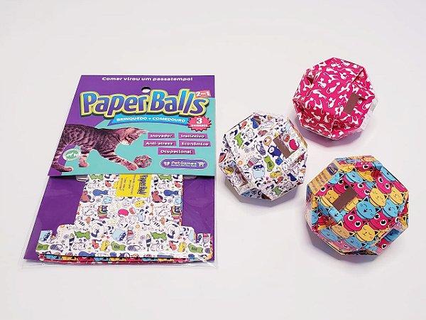 Brinquedo para Gatos Paperballs
