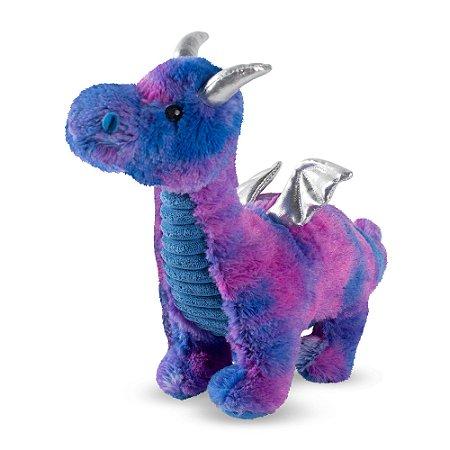 Brinquedo para Cachorros Pelúcia Feelin Blue Dragon