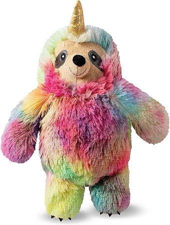 Brinquedo para Cachorros Pelúcia Sloth Tie Dye