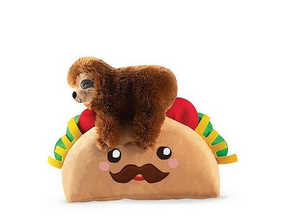 Brinquedo para Cachorros Pelúcia Sloth on a Taco