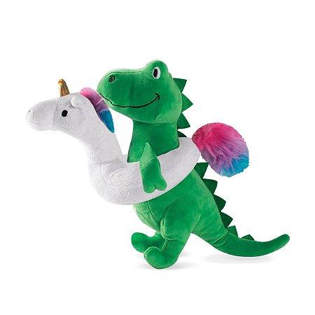 Brinquedo para Cachorros Pelúcia Unicorn Rex