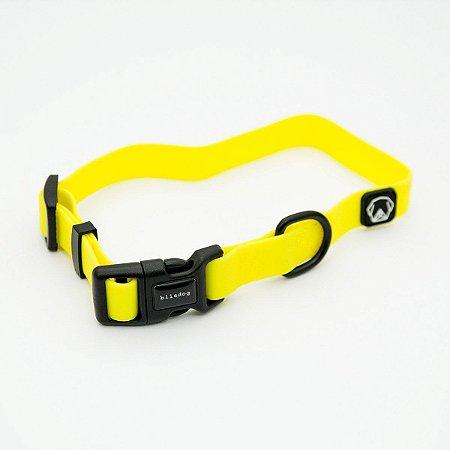 Coleira Impermeável para Cachorros | Amarelo