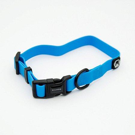 Coleira Impermeável para Cachorros Azul