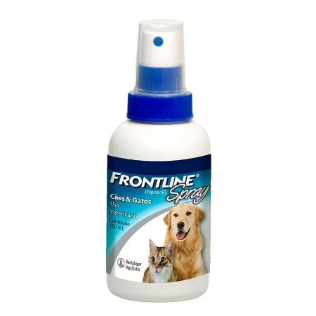 Antipulgas e Carrapatos para Cães e Gatos Frontline Spray 100ml