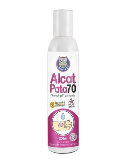 Álcool Gel para Pet Alcat Pata 70