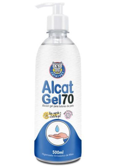 Álcool Gel para Tutores de Pets Alcat Gel 70