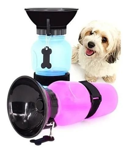 Garrafa Portátil para Cachorros Aqua Dog Squeeze