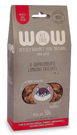 Petisco Natural para Gatos O Surpreendente Lombinho Crocante 50g